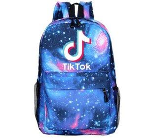 16 Renk Çocuk bos sırt çantası Tik Tok yaratıcı desen Douyin açık seyahat çantası öğrenci okul çantası