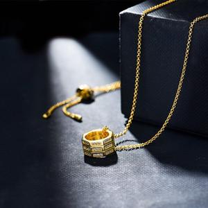 2020 nouvelle vente chaude Cercle Colliers mode polyvalent clavicule collier simple et généreux tempérament Collier avec pendentif Collier femme