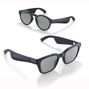 Smart lunettes de soleil Cadres Smart lunettes sans fil Bluetooth écouteurs Bluetooth Lunettes de soleil audio Connectivité Avec Micro Musique Basse
