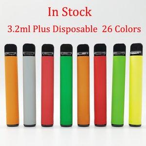 De plus Vape dispositif à usage unique Stylos de pods 550mAh batterie de démarrage Kits Ecigs 26 Couleurs Stylos avec Vaporizer Emballage boîte vide Custom Made