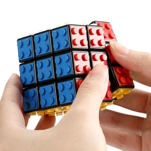 Intelligence toys Cyclone Boys Mini Finger 3x3 Speed Cube Stickerless Finger Magic Cube 3x3x3 Puzzles Toys wholesale 03