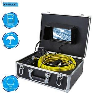 카메라 파이프 카메라 검사 23mm 헤드 하수도 드레인 클리너 지원 비디오 레코더가있는 23mm 산업 내시경 시스템