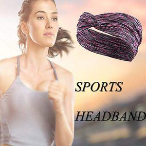 Wholesale 300pcs lot sports running yoga headband Quick Drying High Elastic hair band Stretch Headband Headwear Accessory