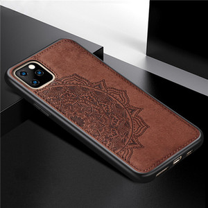 Luxury Leather Case For iphone 11 Pro max Soft Silicone Magnetic Holder Cover For iphone 8 plus X XS XR SE 2020