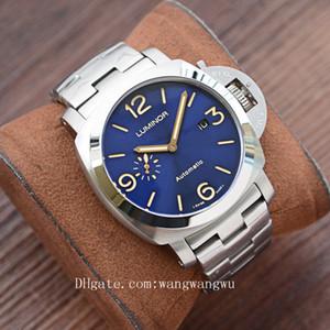 2020 de alta calidad de la marca de lujo de diseño hombres pam relojes de pulsera comodín GMT hombre reloj D0040