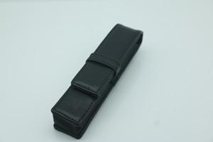 Alta qualidade Black Bag Lápis por um rolo / Pen presente caneta esferográfica Para e pu bolsa de Fountain / material com estrela branca
