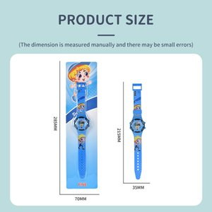 Children electronic cartoon watches Cool electronic Cartoon Superman watch Cute Princess Watch Creative Kid Girl Birthday Gifts