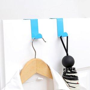 2pcs coloré crochets porte tiroir Cabinet en acier inoxydable Cintre vente chaude serviette Accueil Organisateur