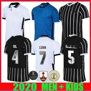 Corinthians camisas de futebol 2020 2021 Camisetas coríntias goleiro GIL RONALDO LUAN FAGNER PEDRINHO 20 21 NETO homens crianças kit FUTEBOL CAMISA