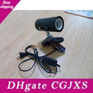 Branchez-nous EU Plug Au plug Heat Abat Abat Lampe Reptile Ombre Clamp Ombre (Reptile animal à sang froid) H301017 50pcs