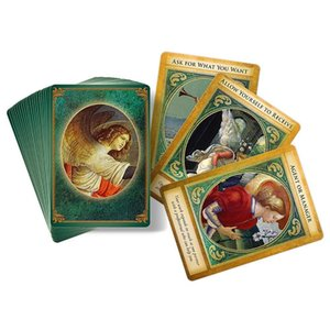 Board Englisch Fate Tarot Archangel Karten Partei Deck Oracle Version Blätter Karten Karten 44 Divination Freund Gabriel Playing Game yxlqot