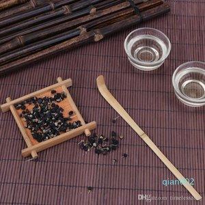 Hecho a mano de bambú del té Matcha cucharada Cuchara Sticks ceremonia del té accesorios retro Relajante granja Estilo cucharadas de té Sticks Herramienta