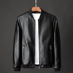 Men's Real Leather Jacket Men Motorcycle winter coat Men Warm Genuine Leather Jackets large size suede casaco
