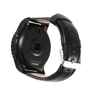 Tarjeta Tf Cgjxs Kw28 inteligente Deporte Bluetooth Sim reloj de la ayuda del ritmo cardíaco monitor LCD de pantalla táctil universal para iOS / Android Phones