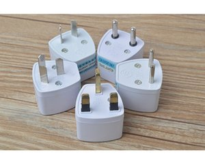 Universal EU US AU tUK AC Travel Power Plug Charger Adapter Converter Adaptors 100pcs lot DHL Free Shipping