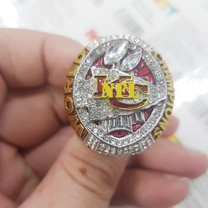 2020 Kansas 2019 ring champion City Chiefs anneaux monde de football Championnat Bijoux Fan-cadeau