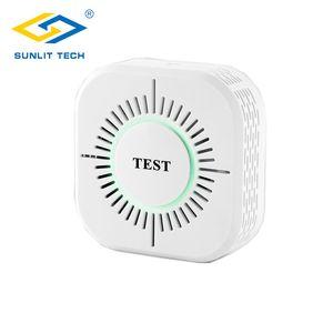 Wireless 433MHz Smoke Detector Independent Fire Alarm Sensor For Smart Home Indoor Security 360 Degree Fire Smoke Alarm Detector