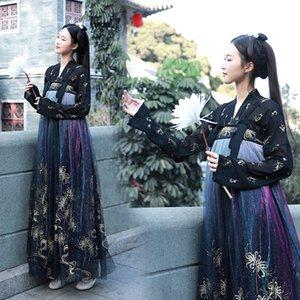 93Vgq 2020 yeni Çin ful yaldız yaratıcı degrade kasımpatı tarzı kadınlar 2020 yeni Çin giyim giyim ful renk yaldız yaratıcı