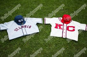 2020 New Die Kansas City und St. Louis 100. Jahrestag Negro National League Baseball Jersey Doppel genäht Name und Nummer Customized