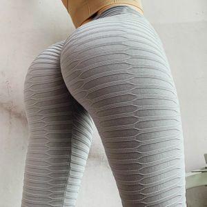 Womens Solid Color Mode Sport-Yoga-Hosen Damen-Übungs-Training Sportwear Gym Lauftop Sporthose Jogger Laufen