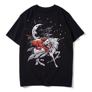 Camicia Coppie estate alla moda T shirt uomo T Uomini donne di alta qualità di Hip Hop T Dimensione M-XXL