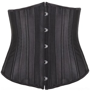 4mMPm 24 ropa de hueso de acero cuerpo que forma Palace Fajas Yao satén sello de la cintura Fajas jia clip de cintura corsé