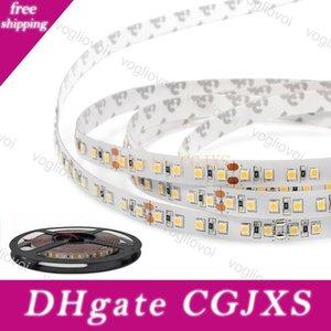 Luce di striscia principale Smd2835 Dc12v 600led luci nastro Round 2 filo flessibile LED per Tenda Tv Auto Computer illuminazione Dhl