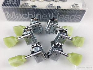1Set Genuine 3R-3L Vintage Deluxe Electric Guitar Machine Heads Tuners WJ-44 Tuning Pegs ( With packaging )