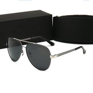 PORSCHE DESIG Case 6201 Yuvarlak Güneş Brille Moda Güneş Womens Güneş Gözlükleri Eyeware Çift Köprüsü Yuvarlak Metal Des Lunettes De Soleil