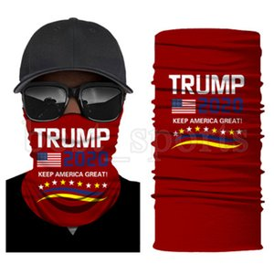 Trump Face Mask 2020 US Flag Protective Mask Outdoor Cycling Magic Scarf Bandana Headband President Trump Biden Election Masks CYZ2723