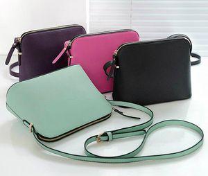 Le donne del progettista di marca a buon mercato cuoio dell'unità di elaborazione spalla femminile del sacchetto di Crossbody Shell BORSE Borse Moda Piccolo Messenger Bag Borse US Marca