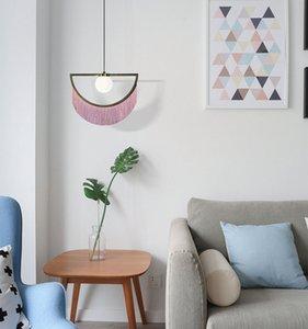 Moderna Nordic Luci del pendente di disegno della nappa Hanging Lamp Per Camera Bar Hotel Restaurant Decoration apparecchi di illuminazione