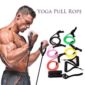 강한 탄력 저항 밴드 튼튼한 근육 실내 스포츠 체육관 필라테스는 근육을 스트레칭 운동 고무 요가 풀 로프를 유지