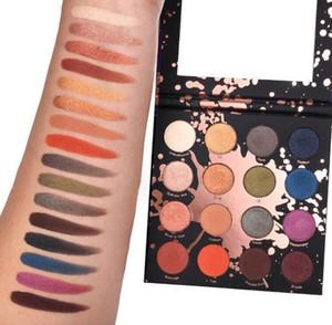 El más reciente PERCEPCIÓN SHAYLA X COLOURPOP paleta de sombra de 16 colores del brillo del reflejo de la sombra de ojo del estallido del color del maquillaje