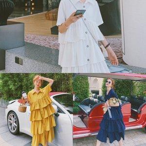 vestito 2020 nuovo vestito francese di xxGcb Donne Super skirt Mori chiffon estate Torta fata temperamento chiffon gonna