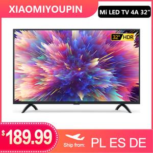 XIAOMI TV 4A التلفزيون الذكية 32 بوصة 1.5G + 8G دعم تخزين miracast نيتفليكس DVB-T2 + C / S2 intellgent الصمام التلفزيون