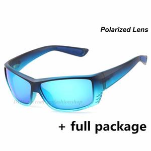 Designer Polarized Marca gatto grigio Occhiali da sole Occhiali Beach Sea Fishing Surf uomini e donne all'aperto Occhiali Eyewear con Cases