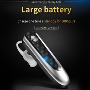 Fineblue HF68 Bluetooth V4.1 Earphone Business Wireless Earbud Stereo Music Ear-hook Hands-free Headset Large Battery Capacity