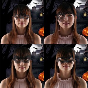 5 Style Lace Halloween Cover Face Masks Christmas Party Masquerade Xmas Decorations Half Face Woman Girls Fashional Masks Christmas Gift