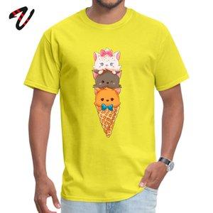 Aristochats T-shirt Dominant court Tacos Simple style Leon ras du cou Hauts shirt hommes Casual T-shirts VALENTINE JOUR