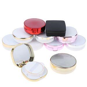 1pcs Leer DIY Air Cushion Puff Box Puff leere Box Beauty Make Up Fall Foundation BB Cream Sponge Dispensing Halt
