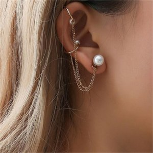 hot style Pearl earrings tassel chain lightweight tassel earrings fashion jewelry Earrings Women Girls Gifts