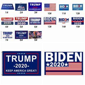 Multi Colors Decor Banner Trump Flag Hanging 90*150cm Trump Keep America Great Banners 3x5ft Digital Print Donald Trump 2020 Flag