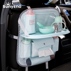 SUNVENO Multi-color Auto Car Seat Back Bag Cloth Multi-Pocket Storage Bag Organizer Holder Accessory Diaper bag 200921