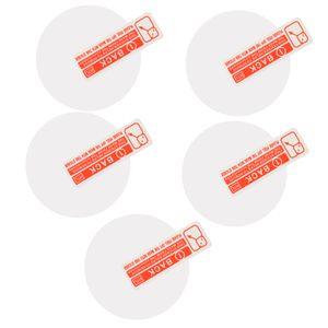 5pack Deporte inteligente reloj de 35 mm redondo Diámetro de pantalla 9H vidrio templado película protectora