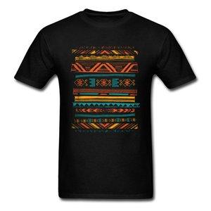 Toltec T-Shirt-Grafik-T-Shirt Männer schwarzes T-Shirt Tribal Art Design Tops Adult T Baumwolle ausgestattet Kleidung Einzigartigen Drop Shipping