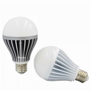 12W 15W Bola LED bombillas lámpara AC110V AC120V AC220V AC240V AC260V Voltaje de entrada con E27 B22 Tenedor de lámpara Opcional Impermeable IP65