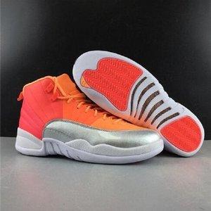 Fitness-Studio New Chameleon 12 Gratis Red Socks Wntr Pe Michigan PSny 12s Mens-Basketball-Schuh-Turnschuhe Lemonade Schuhe