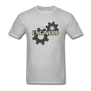 Shirt Online Fashion Big Size Shirts T Nerd maglietta Enginerd Ingegnere Cotone girocollo corta Maglietta a maniche Uomo-Fitness