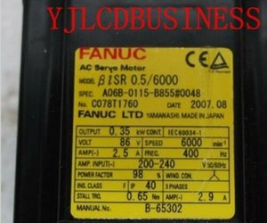 A06B-0115-B855 # 0048 FANUC серводвигателя в хорошем состоянии для промышленности